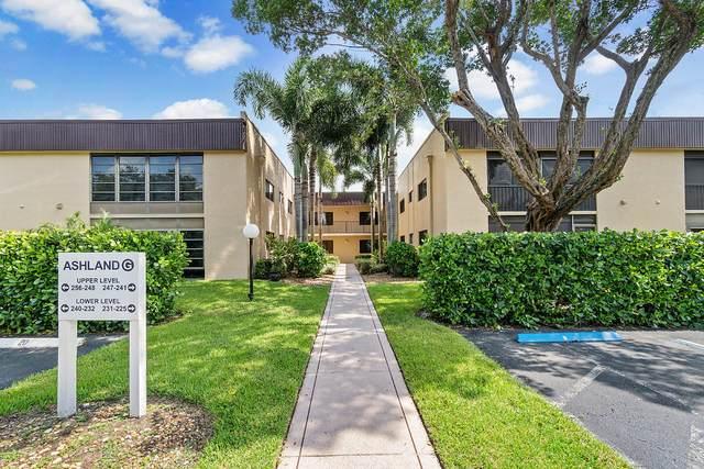 15126 Ashland Street #229, Delray Beach, FL 33484 (#RX-10638654) :: Posh Properties