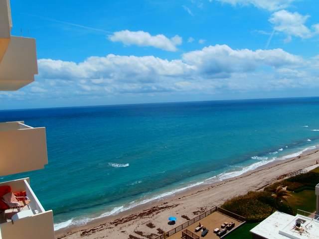4511 S Ocean Boulevard 1003 Penthse, Highland Beach, FL 33487 (#RX-10638691) :: Posh Properties