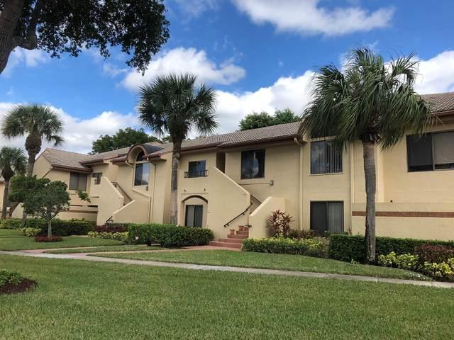 7677 Glendevon Lane #1706, Delray Beach, FL 33446 (MLS #RX-10639569) :: Berkshire Hathaway HomeServices EWM Realty