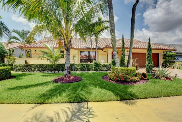 9375 Laurel Green Drive, Boynton Beach, FL 33437 (#RX-10639761) :: Posh Properties
