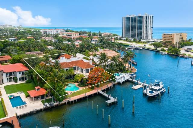 850 Lake Drive, Boca Raton, FL 33432 (MLS #RX-10639828) :: Laurie Finkelstein Reader Team