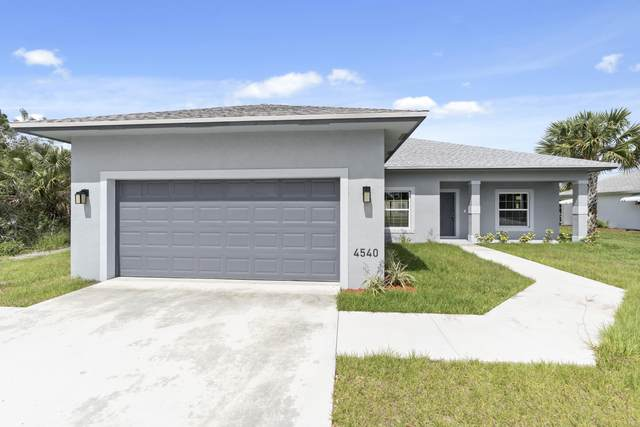 4422 SW Jaunt Road, Port Saint Lucie, FL 34953 (MLS #RX-10639892) :: Berkshire Hathaway HomeServices EWM Realty
