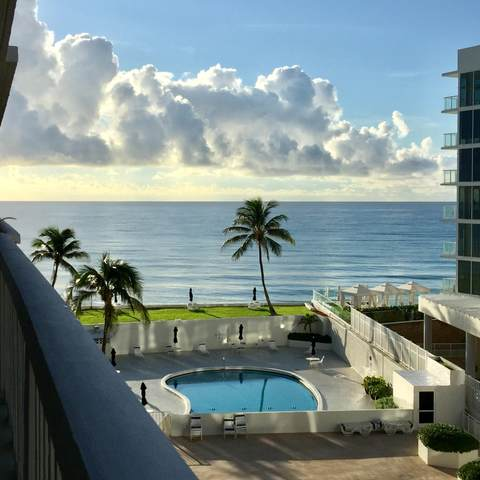 3570 S Ocean Boulevard #607, South Palm Beach, FL 33480 (MLS #RX-10640369) :: Berkshire Hathaway HomeServices EWM Realty