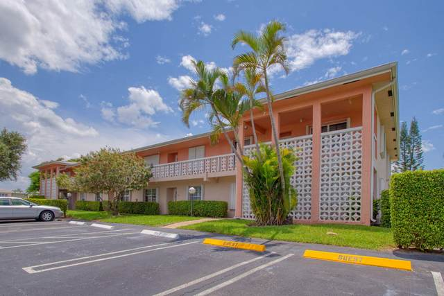 1740 NW 19th Terrace #202, Delray Beach, FL 33445 (MLS #RX-10640460) :: Berkshire Hathaway HomeServices EWM Realty