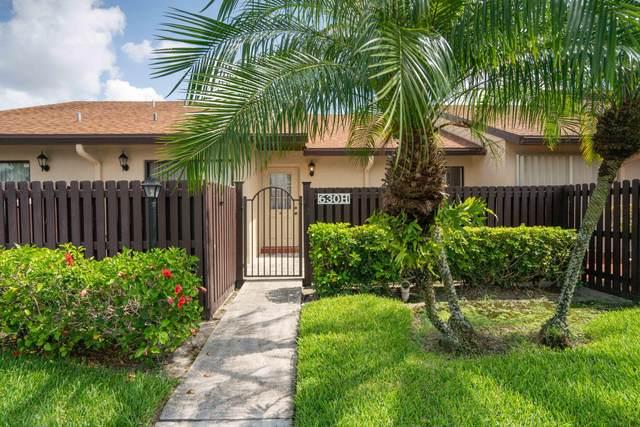 630 Sea Pine Way H, Greenacres, FL 33415 (#RX-10640827) :: Ryan Jennings Group