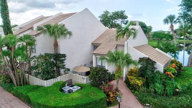 706 Bridgewood Drive #706, Boca Raton, FL 33434 (#RX-10640860) :: Posh Properties