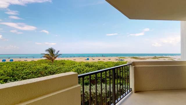 2800 N Ocean Drive A-2D, Singer Island, FL 33404 (MLS #RX-10641098) :: Berkshire Hathaway HomeServices EWM Realty