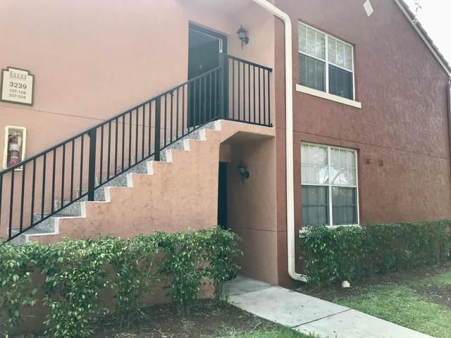 3151 Clint Moore Road #107, Boca Raton, FL 33496 (MLS #RX-10641171) :: Berkshire Hathaway HomeServices EWM Realty