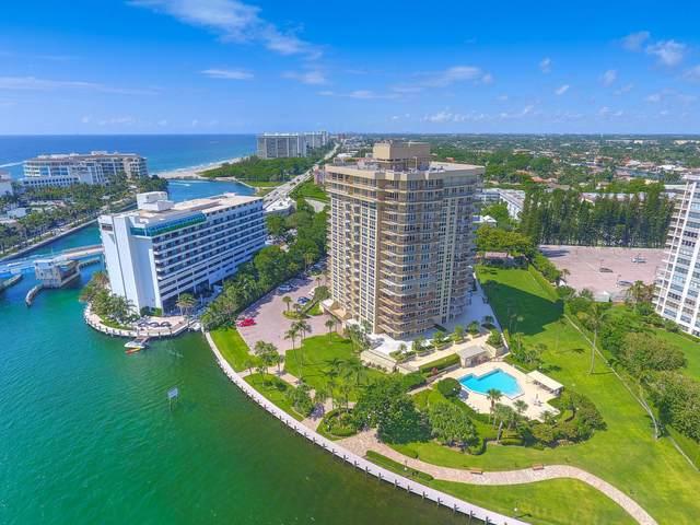 901 E Camino Real 5-D, Boca Raton, FL 33432 (#RX-10641482) :: Posh Properties