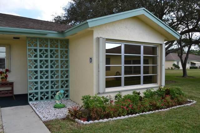 5313 Lakefront Boulevard D, Delray Beach, FL 33484 (MLS #RX-10641500) :: Berkshire Hathaway HomeServices EWM Realty