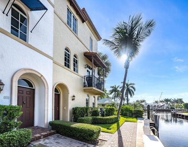846 Virginia Garden Drive, Boynton Beach, FL 33435 (#RX-10641732) :: Posh Properties