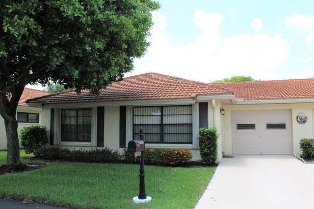 4670 Rosewood Tree Court A, Boynton Beach, FL 33436 (#RX-10642067) :: Ryan Jennings Group
