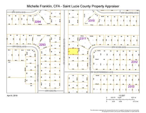 4349 SW Port St Lucie Boulevard, Port Saint Lucie, FL 34953 (MLS #RX-10642237) :: Berkshire Hathaway HomeServices EWM Realty