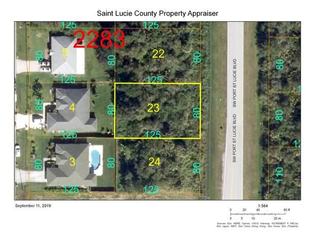4480 SW Port St Lucie Boulevard, Port Saint Lucie, FL 34953 (MLS #RX-10642248) :: Berkshire Hathaway HomeServices EWM Realty