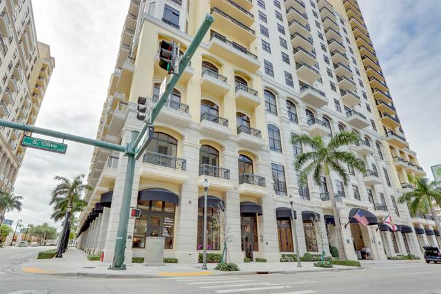 701 S Olive Avenue #112, West Palm Beach, FL 33401 (#RX-10642338) :: The Rizzuto Woodman Team