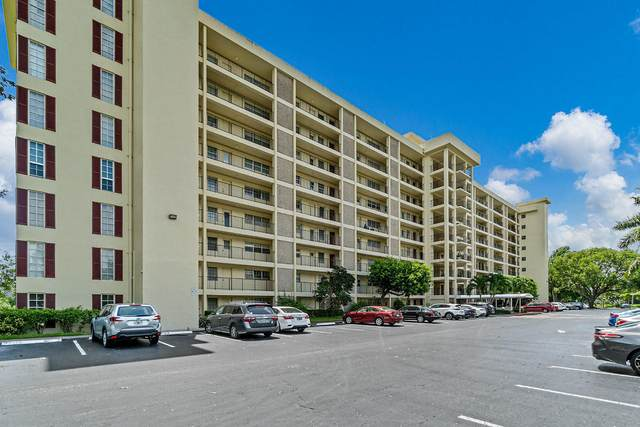 3300 N Palm Aire Drive #507, Pompano Beach, FL 33069 (#RX-10642906) :: Ryan Jennings Group