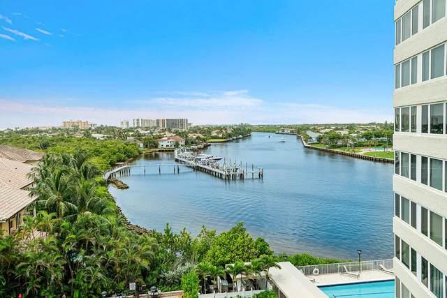 3912 S Ocean Boulevard #702, Highland Beach, FL 33487 (MLS #RX-10642921) :: Berkshire Hathaway HomeServices EWM Realty
