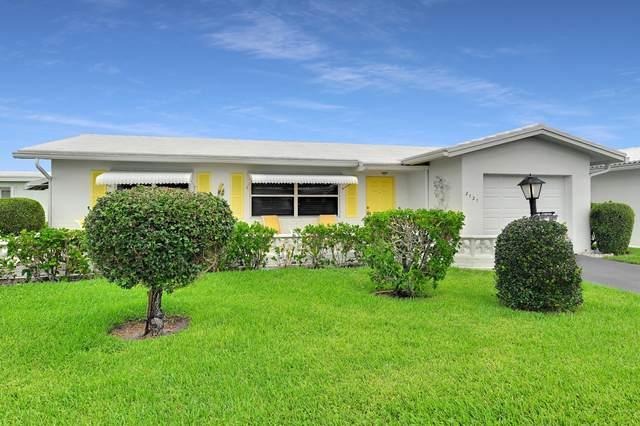2121 SW Lake Circle Drive, Boynton Beach, FL 33426 (#RX-10642998) :: The Reynolds Team/ONE Sotheby's International Realty