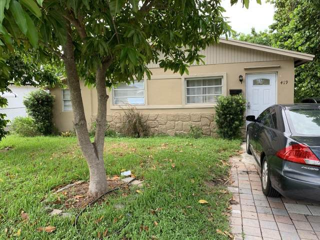 419 SW 10th Street, Delray Beach, FL 33444 (#RX-10643221) :: Real Estate Authority