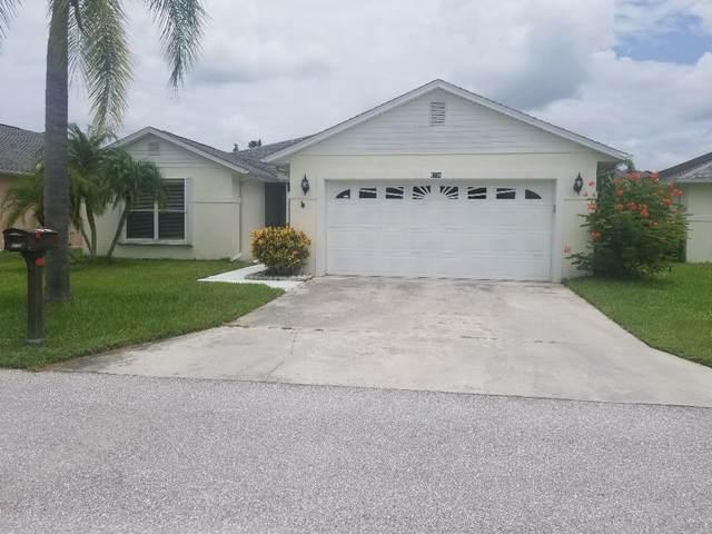 6736 Tulipan, Fort Pierce, FL 34951 (MLS #RX-10643320) :: Berkshire Hathaway HomeServices EWM Realty