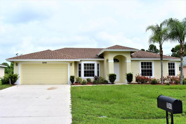 1141 SW Hunnicut Avenue, Port Saint Lucie, FL 34953 (MLS #RX-10643469) :: Castelli Real Estate Services