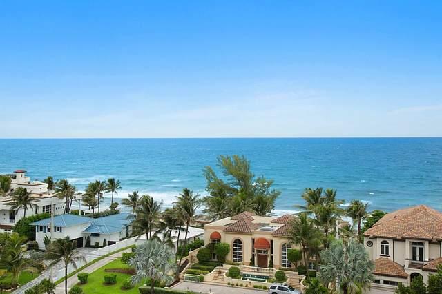 3606 S Ocean Boulevard #1003, Highland Beach, FL 33487 (MLS #RX-10643674) :: Berkshire Hathaway HomeServices EWM Realty