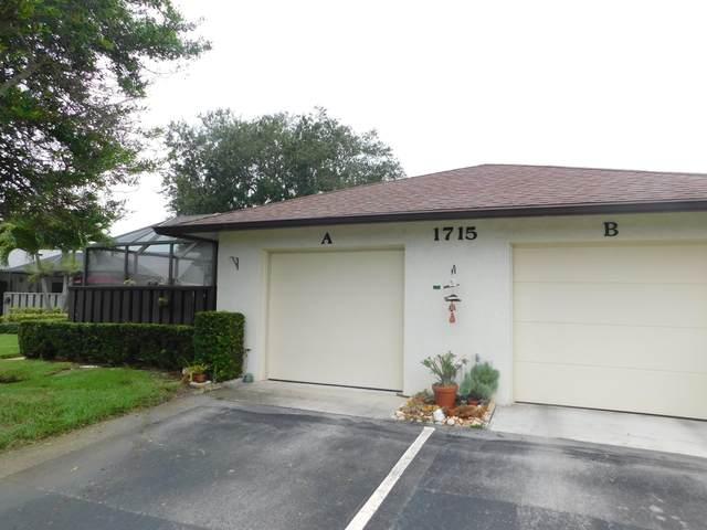 1715 Mariners Cove #6, Fort Pierce, FL 34950 (MLS #RX-10643682) :: Berkshire Hathaway HomeServices EWM Realty