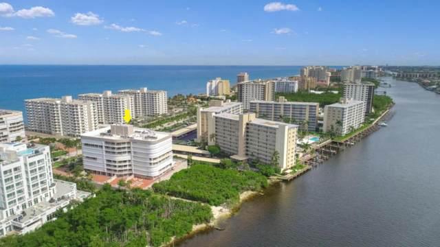 3210 S Ocean Boulevard #405, Highland Beach, FL 33487 (MLS #RX-10643779) :: Berkshire Hathaway HomeServices EWM Realty