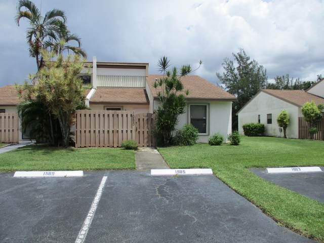 1985 Monks Court, West Palm Beach, FL 33415 (#RX-10643786) :: Ryan Jennings Group