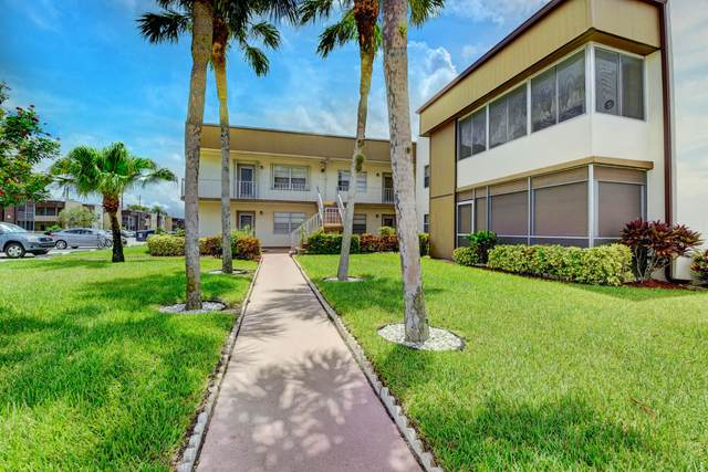 150 Burgundy D, Delray Beach, FL 33484 (MLS #RX-10644270) :: Berkshire Hathaway HomeServices EWM Realty