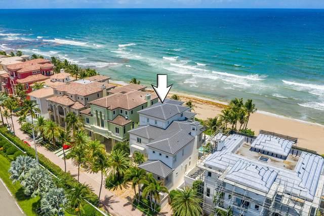 10 Ocean Place, Highland Beach, FL 33487 (MLS #RX-10644465) :: Berkshire Hathaway HomeServices EWM Realty
