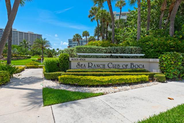 4201 N Ocean Boulevard #703, Boca Raton, FL 33431 (MLS #RX-10644477) :: Berkshire Hathaway HomeServices EWM Realty