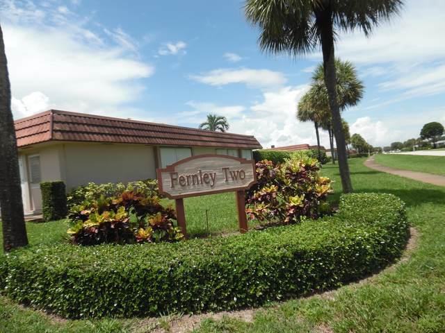 5725 Fernley Drive E #55, West Palm Beach, FL 33415 (MLS #RX-10644525) :: Cameron Scott with RE/MAX
