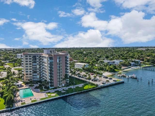 2800 N Flagler Drive #810, West Palm Beach, FL 33407 (MLS #RX-10644584) :: Berkshire Hathaway HomeServices EWM Realty