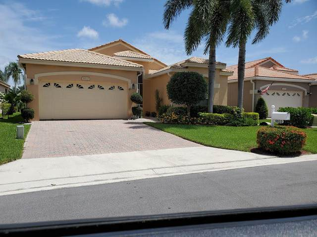6833 Ashton Street, Boynton Beach, FL 33437 (MLS #RX-10644624) :: Miami Villa Group