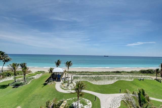 5000 N Ocean Drive #501, Singer Island, FL 33404 (MLS #RX-10644676) :: Miami Villa Group