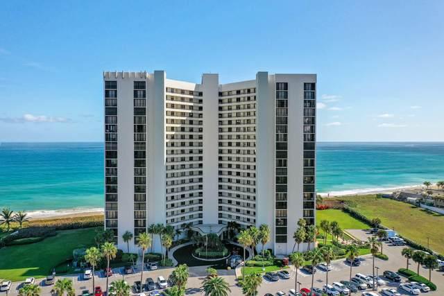 9650 S Ocean Drive #1507, Jensen Beach, FL 34957 (#RX-10644710) :: The Rizzuto Woodman Team