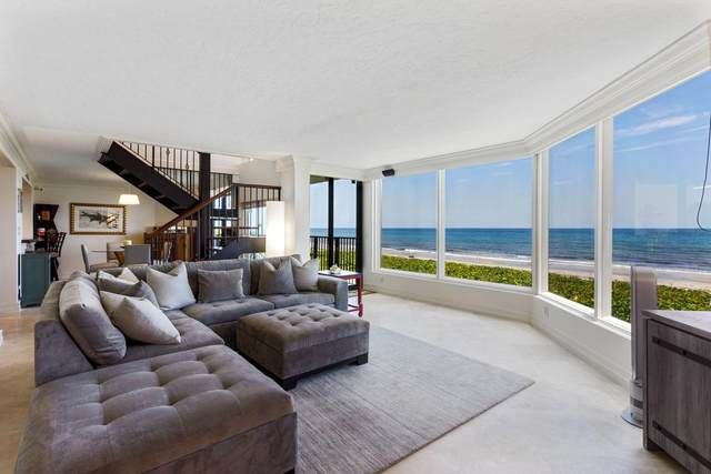 2575 S Ocean Boulevard 103S, Highland Beach, FL 33487 (MLS #RX-10645298) :: Berkshire Hathaway HomeServices EWM Realty