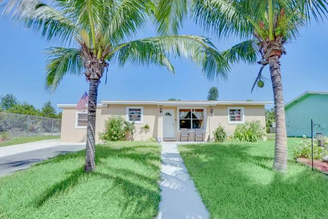 281 NW 28th Avenue, Boynton Beach, FL 33435 (#RX-10645711) :: Real Estate Authority