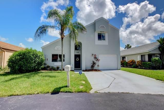12 Elton Place, Boynton Beach, FL 33426 (#RX-10645753) :: Real Estate Authority