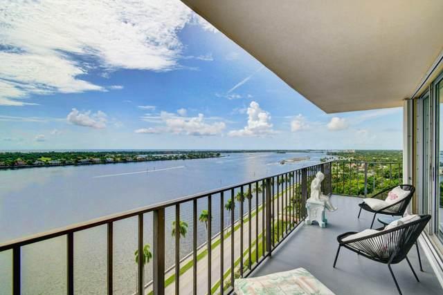 1801 S Flagler Drive #1602, West Palm Beach, FL 33401 (MLS #RX-10645846) :: Castelli Real Estate Services