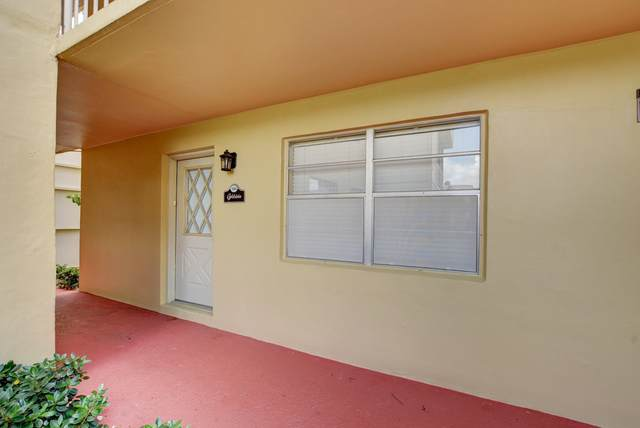 396 Capri I, Delray Beach, FL 33484 (#RX-10645922) :: Real Estate Authority