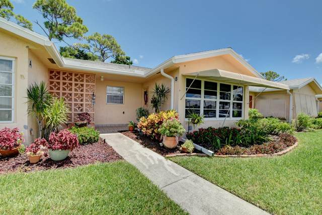 14620 Canalview Drive B, Delray Beach, FL 33484 (#RX-10645957) :: Real Estate Authority