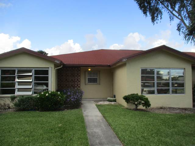 1705 N Dove Tail Drive B, Fort Pierce, FL 34982 (MLS #RX-10645978) :: The Paiz Group