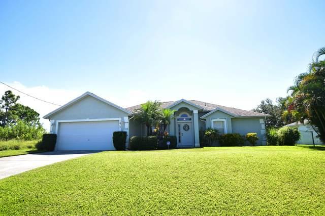 1812 SW Monterrey Lane, Port Saint Lucie, FL 34953 (MLS #RX-10646016) :: Berkshire Hathaway HomeServices EWM Realty