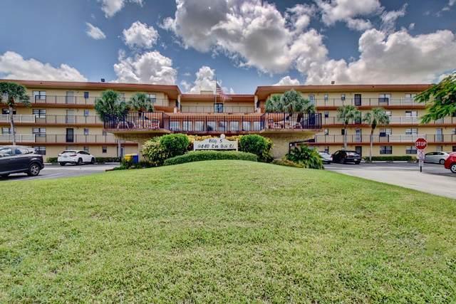 9440 SW 8th Street #212, Boca Raton, FL 33428 (MLS #RX-10646066) :: Castelli Real Estate Services
