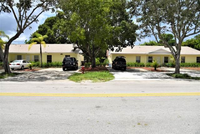 3701 S 57th Avenue #1, Greenacres, FL 33463 (#RX-10646072) :: Posh Properties
