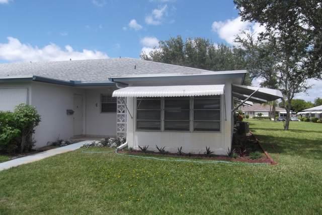 1222 S Drive Way D, Delray Beach, FL 33445 (MLS #RX-10646132) :: Berkshire Hathaway HomeServices EWM Realty