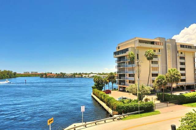 900 NE Spanish River Boulevard 6E, Boca Raton, FL 33431 (MLS #RX-10646266) :: Berkshire Hathaway HomeServices EWM Realty