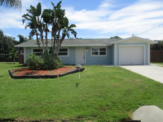 5406 Seagrape Drive, Fort Pierce, FL 34982 (MLS #RX-10646300) :: Laurie Finkelstein Reader Team